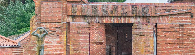 Die Große Kunstschau in Worpswede gestaltete Bernhard Hoetger.