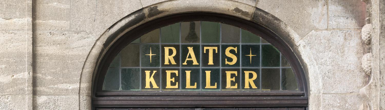 Ein guter Platz für Wein, der Bremer Ratskeller.