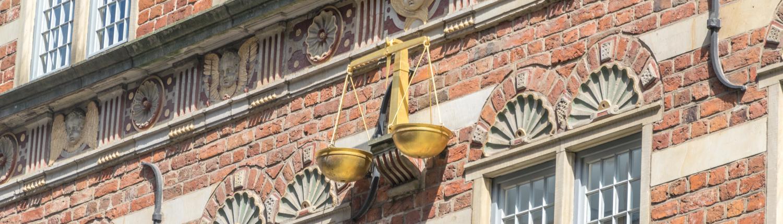 Viele schöne Details kann man an der Bremer Stadtwaage entdecken.