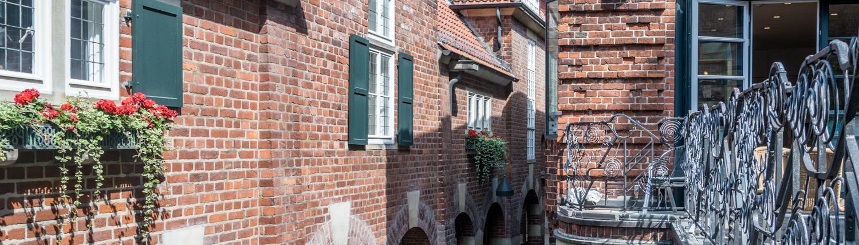 Viele verschiedene Details gibt in der Böttcherstraße Bremen zu entdecken.