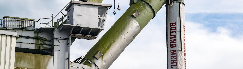 Mit dieser Technik kommt in Bremen das Getreide vom Schiff ins Silo.